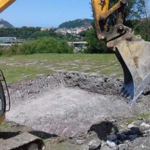 Construccion y excavacion de piscina en Gipuzkoa