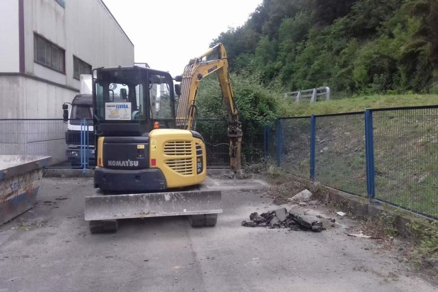 Construcción de parking para motos en Gipuzkoa
