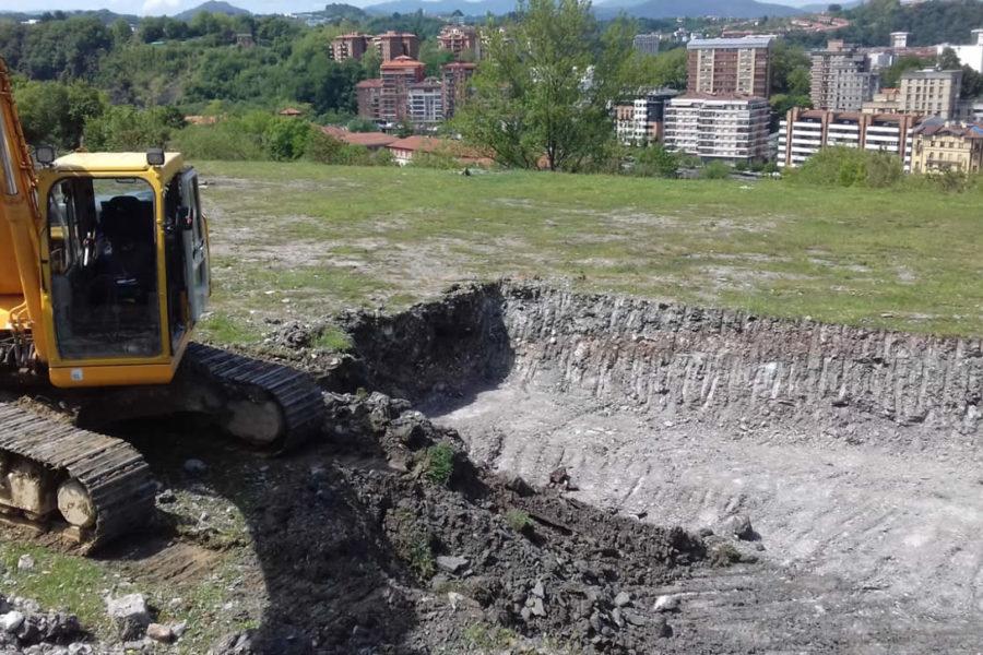 Construcción de piscina en Gipuzkoa, Donostia – San Sebastián.
