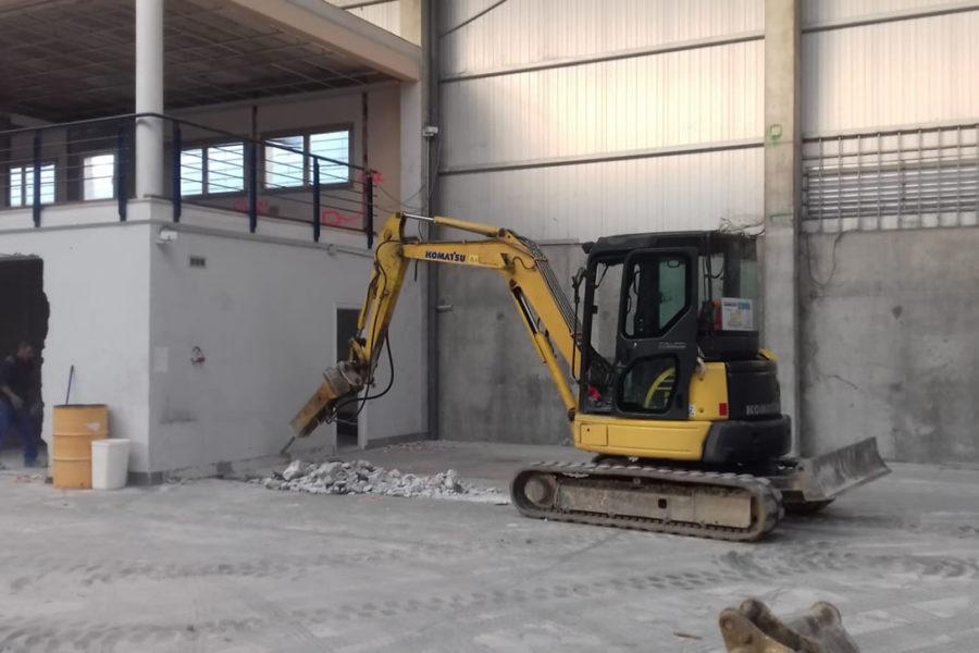 Excavaciones en Gipuzkoa. DHL Hernani.