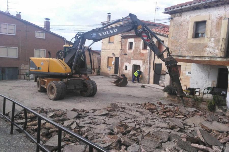 Plazas y calles en Castrillo de la Reina, Burgos