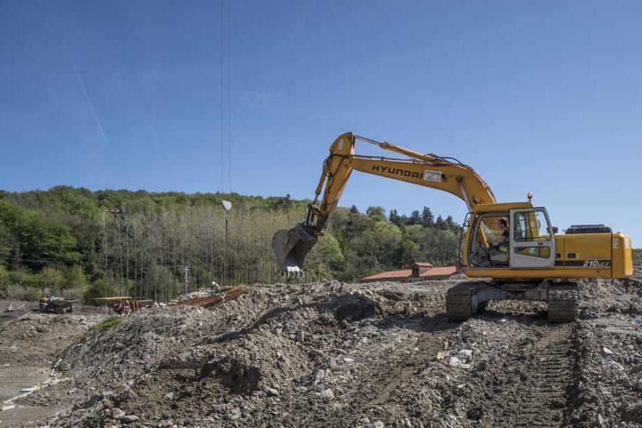 Movimiento de tierras en Donostia