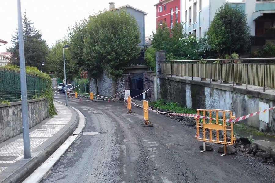 Renovación de cunetas en San Sebastián – Donostia