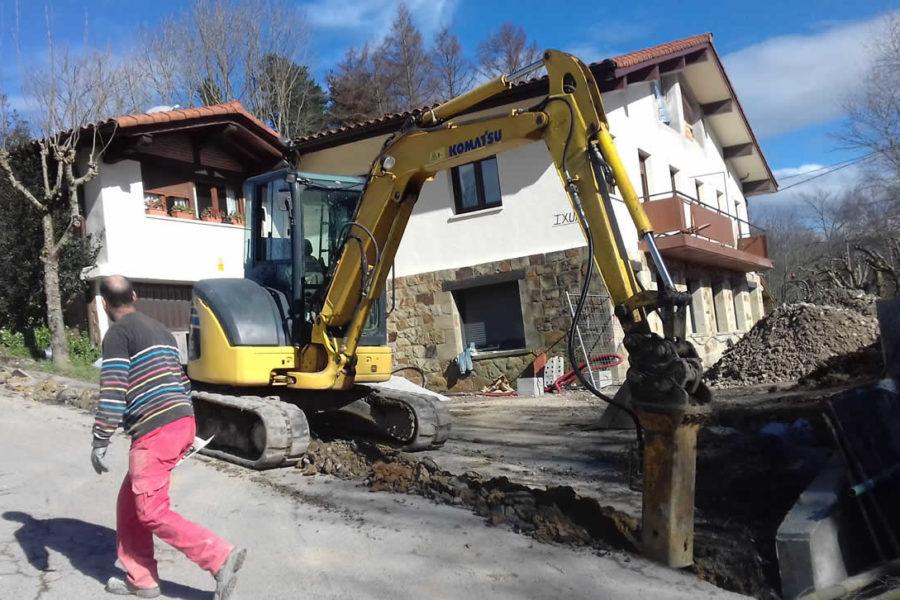 Urbanización completa del hotel Ixua en Eibar